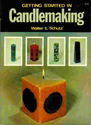 9780020119005: Candle Making (Getting Started in...)
