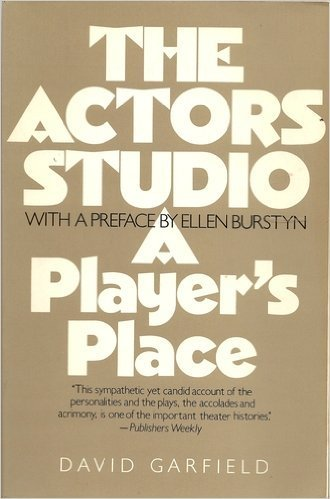 9780020123101: The Actor's Studio: A Player's Place