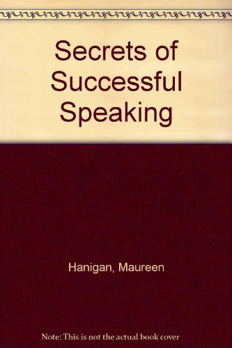 9780020124207: Secrets of Successful Speaking
