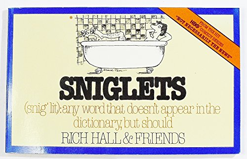 9780020125303: Sniglets (Snig'Lit : Any Word That Doesn't Appear in the Dictionary, but Should)