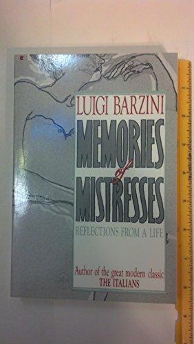 9780020130802: Memories of Mistresses