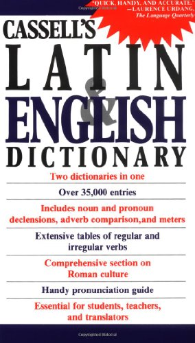 9780020133407: Cassell's Latin and English Dictionary