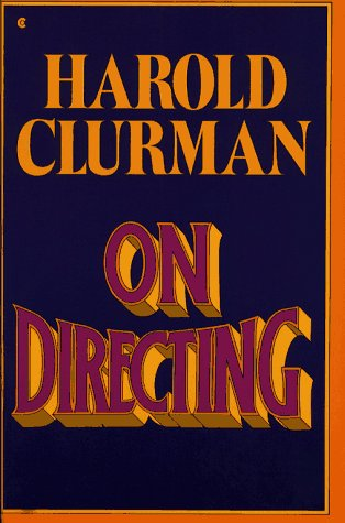 9780020133506: On Directing
