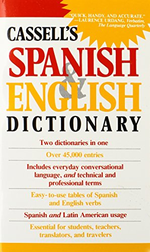 9780020136903: Cassell's Spanish & English Dictionary