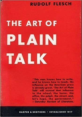 9780020139508: Flesch R:Art of Plain Talk Rev
