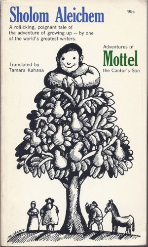 9780020161509: Adventures of Mottel, the Cantor's Son
