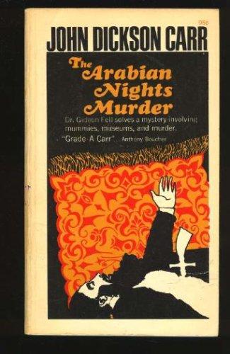 9780020183501: Title: The Arabian Nights Murder