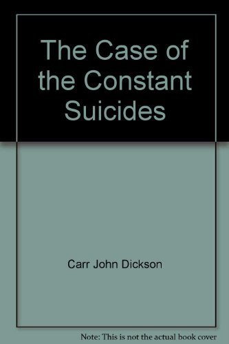9780020184706: The case of the constant suicides
