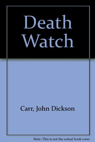 9780020188506: Death Watch