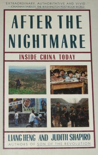 9780020209904: After the Nightmare: Inside China Today