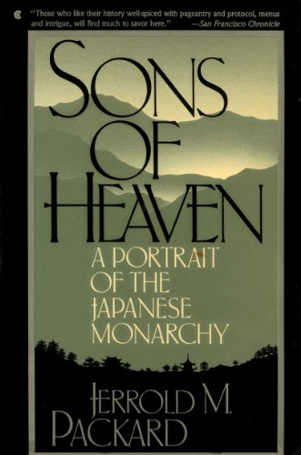 9780020232810: Sons of heaven: A portrait of the Japanese monarchy