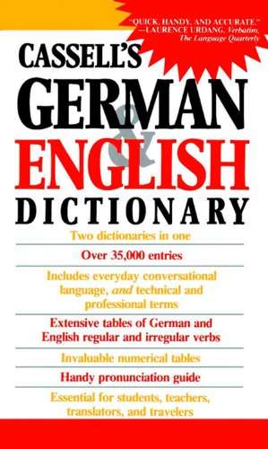 9780020248507: Cassell's German & English Dictionary