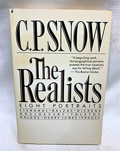 9780020254102: The Realists: Eight Portraits : Stendhal, Balzac, Dickens, Dostoevsky, Tolstoy, Galdos, Henry James, Proust