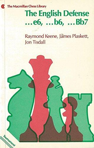 9780020286905: The English Defense (Macmillan Chess Library)