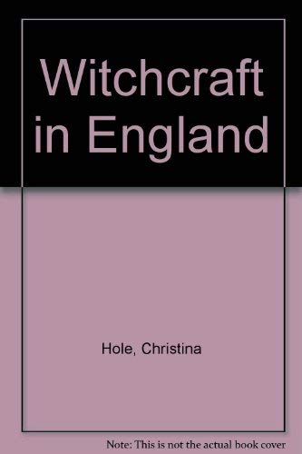 9780020288602: Witchcraft in England
