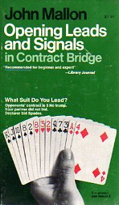 9780020292104: Opening Leads and Signals in Contract Bridge