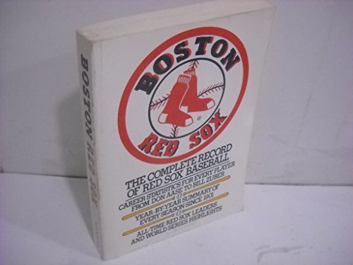 9780020294108: Boston Red Sox: The complete record of Red Sox baseball
