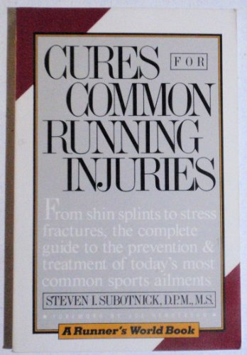 9780020296003: Cures for Common Running Injuries