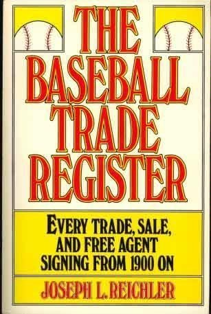 9780020296706: Baseball Trade Register