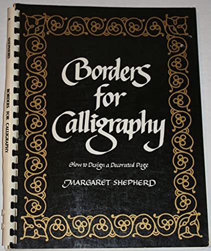 9780020296805: Borders for Calligraphy