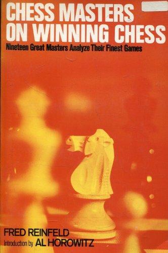 9780020297208: Chess Masters on Winning Chess
