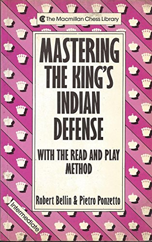 9780020306214: Mastering the King's Indian Defense (A Batsford Chess Book)