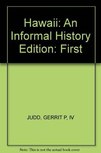 9780020339809: Hawaii: an Informal History.
