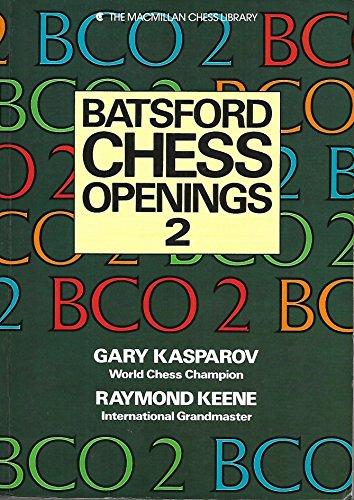 9780020339915: Batsford chess openings 2 (The Macmillan chess library)