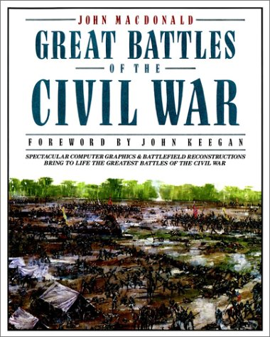9780020345541: Great Battles of the Civil War