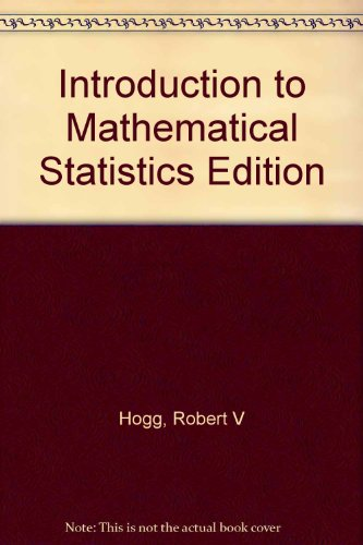 9780020355632: Introduction to Mathematical Statistics Edition