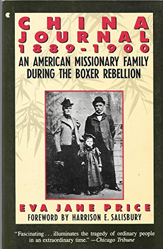 China Journal 1889-1900: An American Missionary Family: Price, Eva Jane