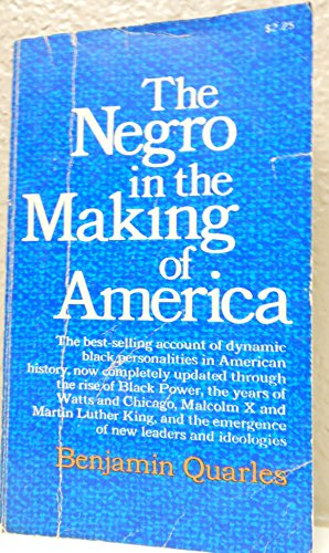 9780020361305: The NEGRO IN THE MAKING OF AMERICA REVISED EDITION