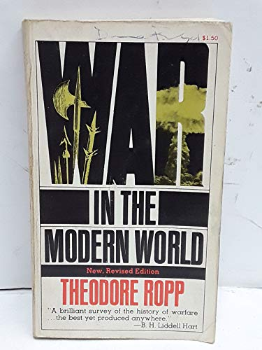 9780020364009: War in the Modern World (New, Revised Edition)