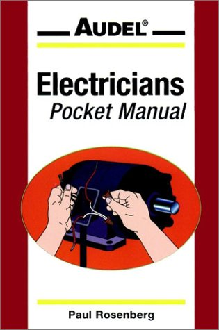 9780020364252: Audel Electricians Pocket Manual