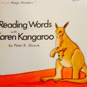 9780020369509: Reading Words With Karen Kangaroo