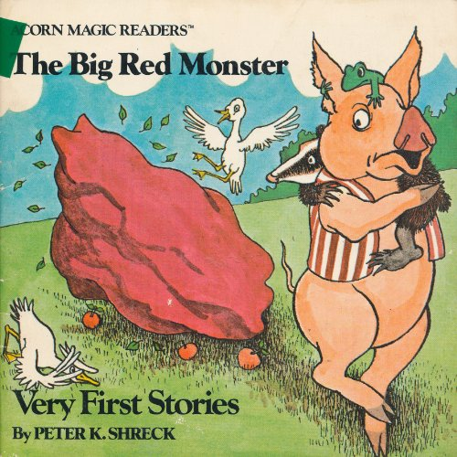 9780020371502: The Big Red Monster (Acorn Magic Readers)