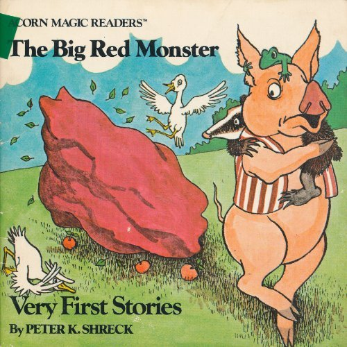 The Big Red Monster (Acorn Magic Readers) (9780020371502) by Peter K. Shreck