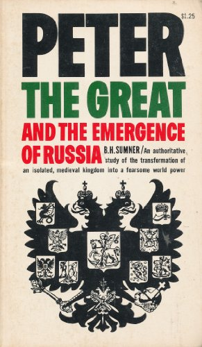 9780020377603: Peter the Great and the Emergence of Russia