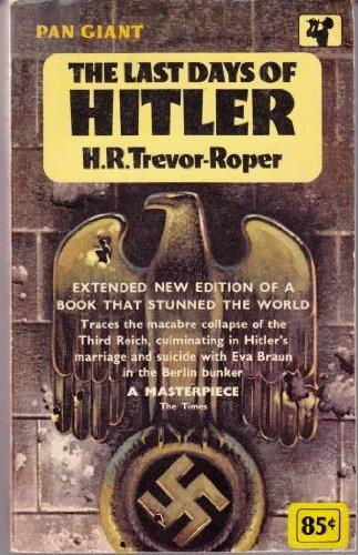9780020380009: The Last Days of Hitler