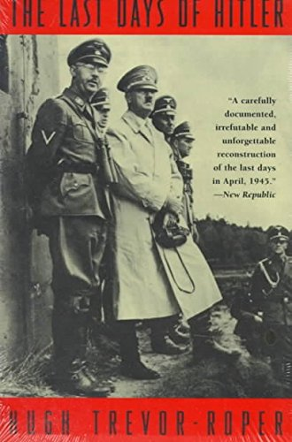 9780020380108: The Last Days of Hitler