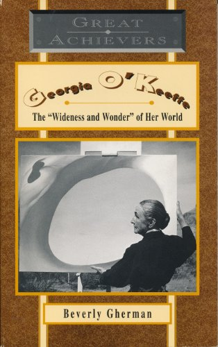9780020403883: GEORGIA O'KEEFFE THE WIDENESS AND WONDEROF HER WORLD (GREAT ACHIEVERS)