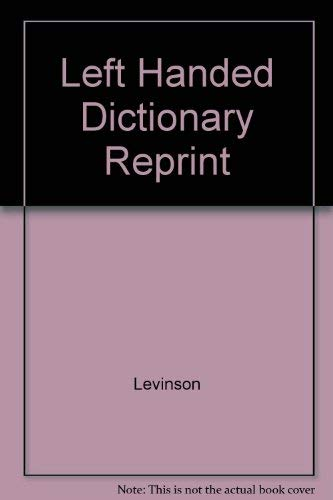 9780020405702: Left-Handed Dictionary