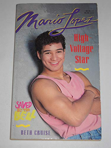 9780020418511: Mario Lopez: High Voltage Star (Saved By the Bell)