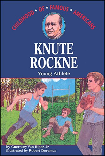 9780020421108: Knute Rockne: Young Athlete (Childhood of Famous Americans)