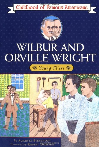 9780020421702: Wilbur and Orville Wright: Young Fliers (Childhood of Famous Americans)