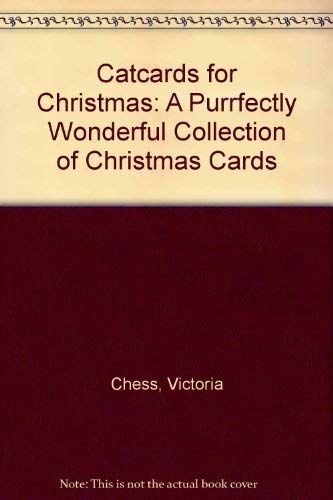 9780020422402: Catcards for Christmas: A Purrfectly Wonderful Collection of Christmas Cards