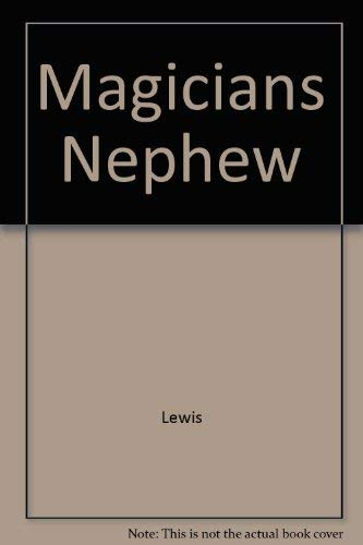 9780020443902: Magicians Nephew (The Chronicles of Narnia)