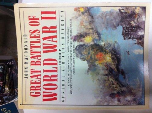 9780020444633: Great Battles of World War II