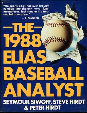 9780020449829: The 1988 Elias Baseball Analyst