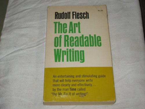 9780020464600: The Art of Readable Writing